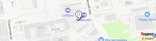 Абсолют на карте Ростова-на-Дону