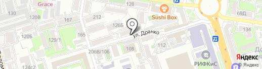 Диешар на карте Ростова-на-Дону