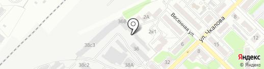 Стандартпласт на карте Рязани