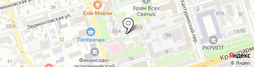 Датум Проект на карте Ростова-на-Дону