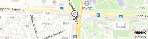 Компания на карте Ростова-на-Дону