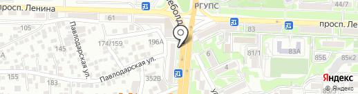 Пражская кружка на карте Ростова-на-Дону