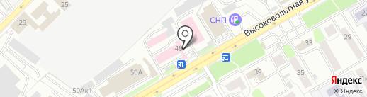 Елатомский приборный завод на карте Рязани