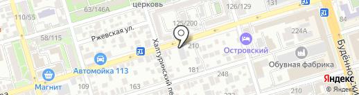 Шериф на карте Ростова-на-Дону