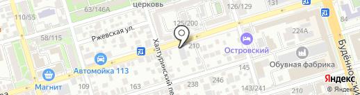 Крепеж плюс на карте Ростова-на-Дону