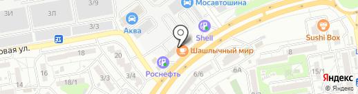 Корея Рулит! на карте Ростова-на-Дону
