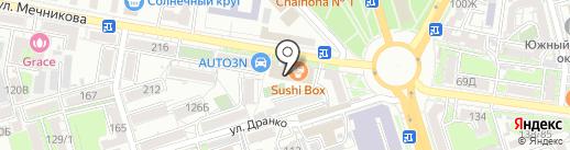Заходите в гости на карте Ростова-на-Дону