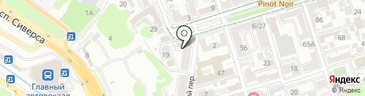 Доломановский на карте Ростова-на-Дону
