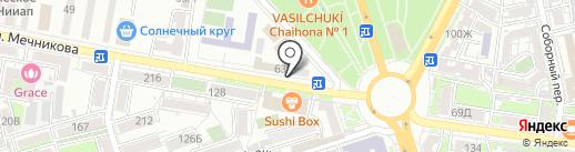 Партнер-Гарант на карте Ростова-на-Дону