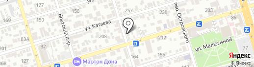 Мятная Белка на карте Ростова-на-Дону