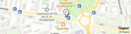Презент на карте Ростова-на-Дону