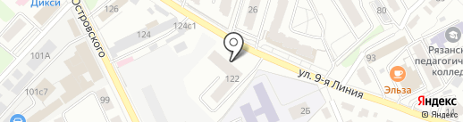 Автовыкуп на карте Рязани