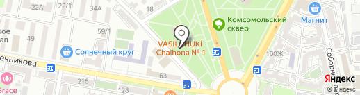 Ветерок на карте Ростова-на-Дону