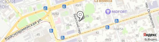 Дзен на карте Ростова-на-Дону