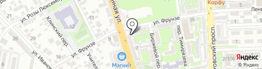 СпортЛига на карте Ростова-на-Дону