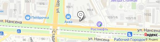 Мотор партс Авто на карте Ростова-на-Дону
