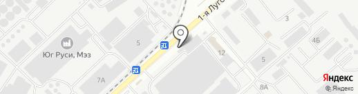 Столовая как дома на карте Ростова-на-Дону