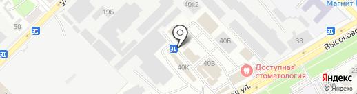 Магазин алкогольной продукции на карте Рязани