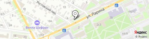 Магазин секонд-хенд одежды на карте Ростова-на-Дону
