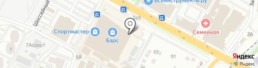 InРost на карте Рязани