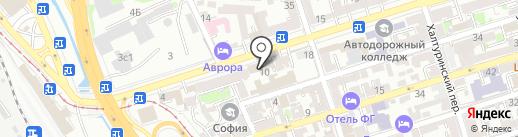 Шик и Шарм на карте Ростова-на-Дону