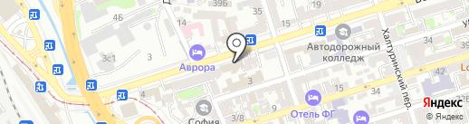 Lounge 3D Cinema на карте Ростова-на-Дону