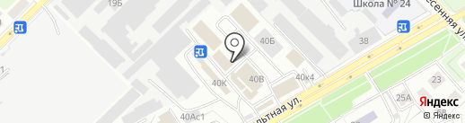 Магазин бытовой химии на карте Рязани