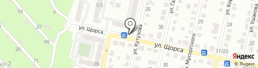 Колос-2, ЖСК на карте Рязани