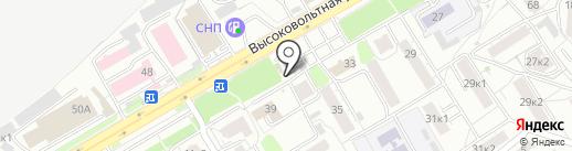 Киоск фастфудной продукции на карте Рязани