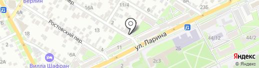 Продмаг на карте Ростова-на-Дону