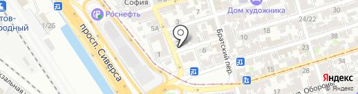 Фаворит61 на карте Ростова-на-Дону