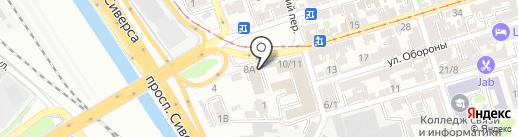 Галеон-Марк на карте Ростова-на-Дону