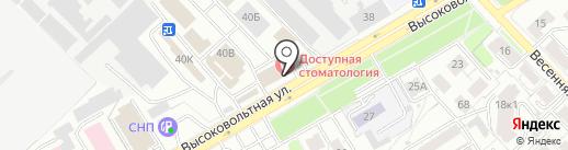 Вианор на карте Рязани