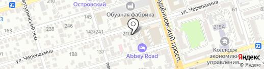 Южная Башня на карте Ростова-на-Дону