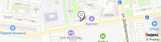 Салон ритуальных услуг на карте Ростова-на-Дону