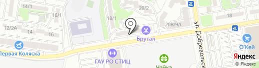Наколошная №1 на карте Ростова-на-Дону