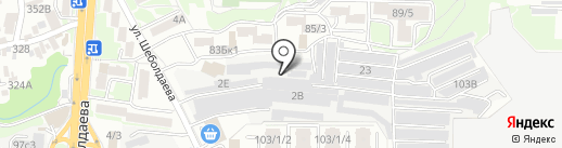 АК БЕТОН СТРОЙ на карте Ростова-на-Дону