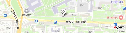 ОК БАНКРОТ-РОСТОВ на карте Ростова-на-Дону