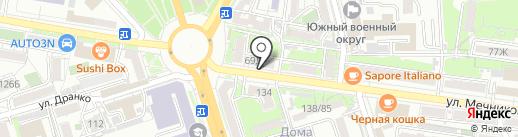 Пивнофф на карте Ростова-на-Дону