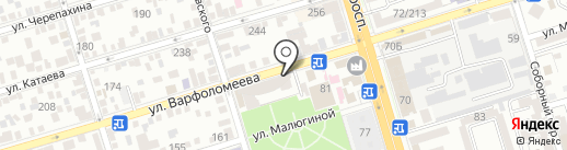 Мили на карте Ростова-на-Дону