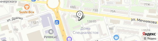 Домиан.ру на карте Ростова-на-Дону