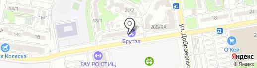 Магазин игрушек на карте Ростова-на-Дону