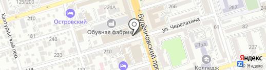Чайный склад на карте Ростова-на-Дону