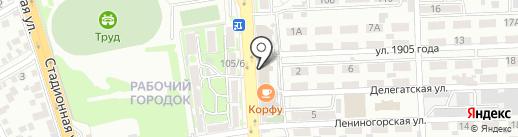 Добрыня на карте Ростова-на-Дону