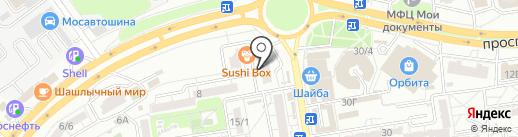 Мастерская одежды на карте Ростова-на-Дону