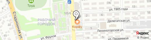 Мария на карте Ростова-на-Дону