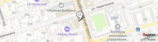 СК КапиталСтрой на карте Ростова-на-Дону