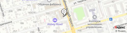 Extreme don на карте Ростова-на-Дону