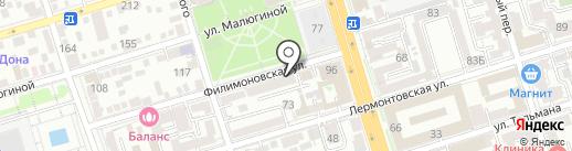 Эверест на карте Ростова-на-Дону