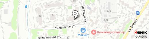 Белый носорог на карте Ростова-на-Дону